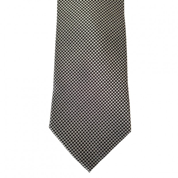 Black Silk Solid Wide Tie