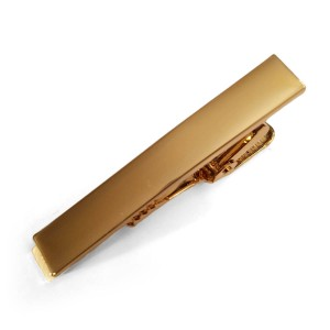 Gold Steel  Tie Bar | Gold Colored