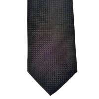 Black Silk Solid Wide Tie | Ashland Black