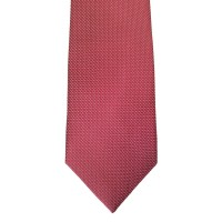Pink Silk Solid Wide Tie | Wine Solid