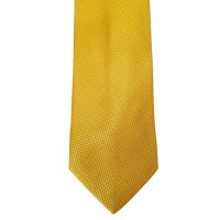 Yellow Silk Solid Wide Tie   Yellow Solid
