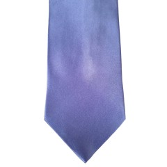 Blue Silk Solid Wide Tie | Ocean Blue