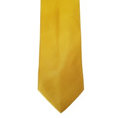 Yellow Silk Solid Skinny Ties   Yellow Solid